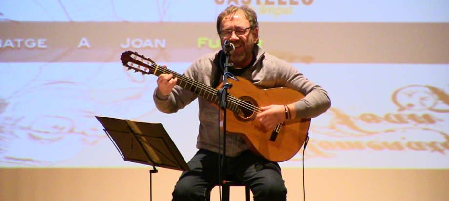 Miquel Gil a la Casa de Cultura de Castalla