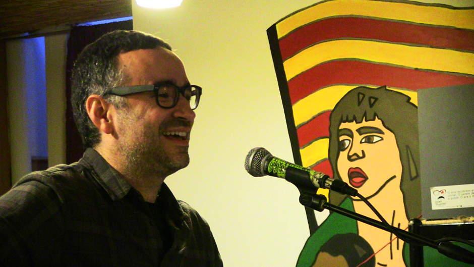 """Xavi Sarrià al Casal Popular """"Tio Cuc"""" d'Alacant"""