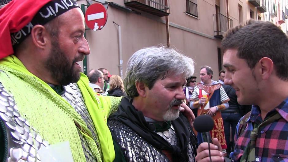 Festes a Diània: Moros i Cristians a Alcoi (2013)