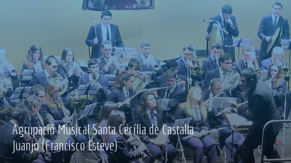 Agrupació Musical Santa Cecilia de Castalla – Juanjo (Francisco Esteve)
