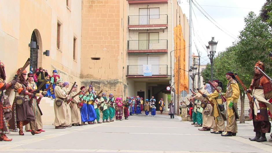 Festes a Diània: Moros i Cristians a Onil 2013