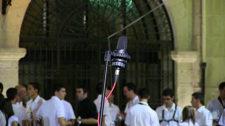 """La Banda Jove de l'AMSC de Castalla culmina ls VII jornades de convivència """"Carrascal 2013"""" amb un concert a la Plaça Major"""