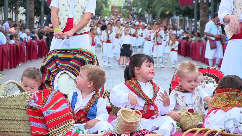 Els xiquets maseros a la festa