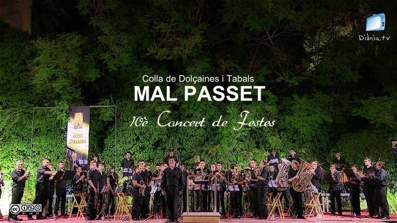 [CD] Colla de Dolçaines i Tabals Mal Passet - 10è Concert de Festes