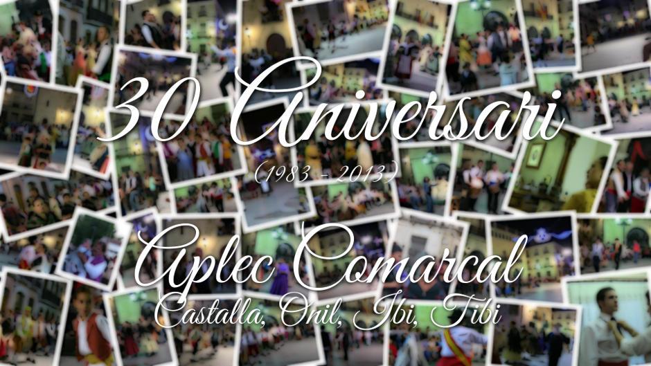 Danses a Castalla (1983-2013) 2º Part: Aplec Comarcal