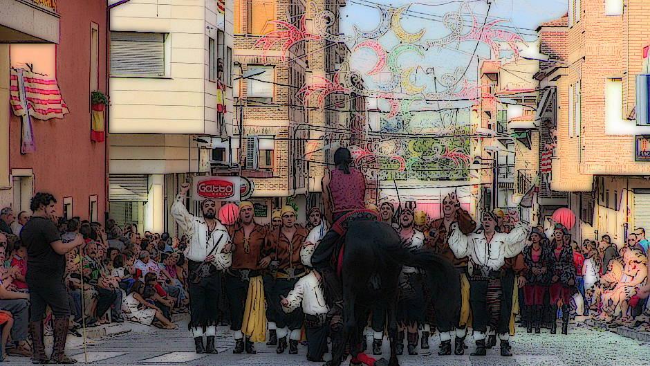Quan la Festa Ompli el Poble: Entrada de Moros i Cristians a Castalla