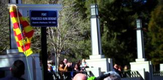 """""""Un pont cap a la memòria"""": l'homenatge d'Alcoi als republicans deportats als camps d'extermini nazis"""
