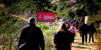 La Safor homenatja a Joan Pellicer i Toni Mascarell a la Font dels Madallars