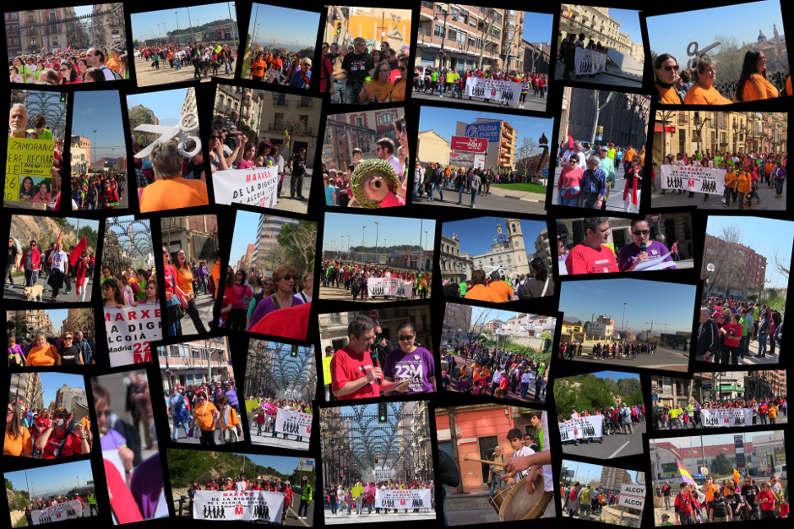 """""""Quan caminàvem"""" Marxa de la dignitat Cocentaina - Alcoi (16/03/2014)"""