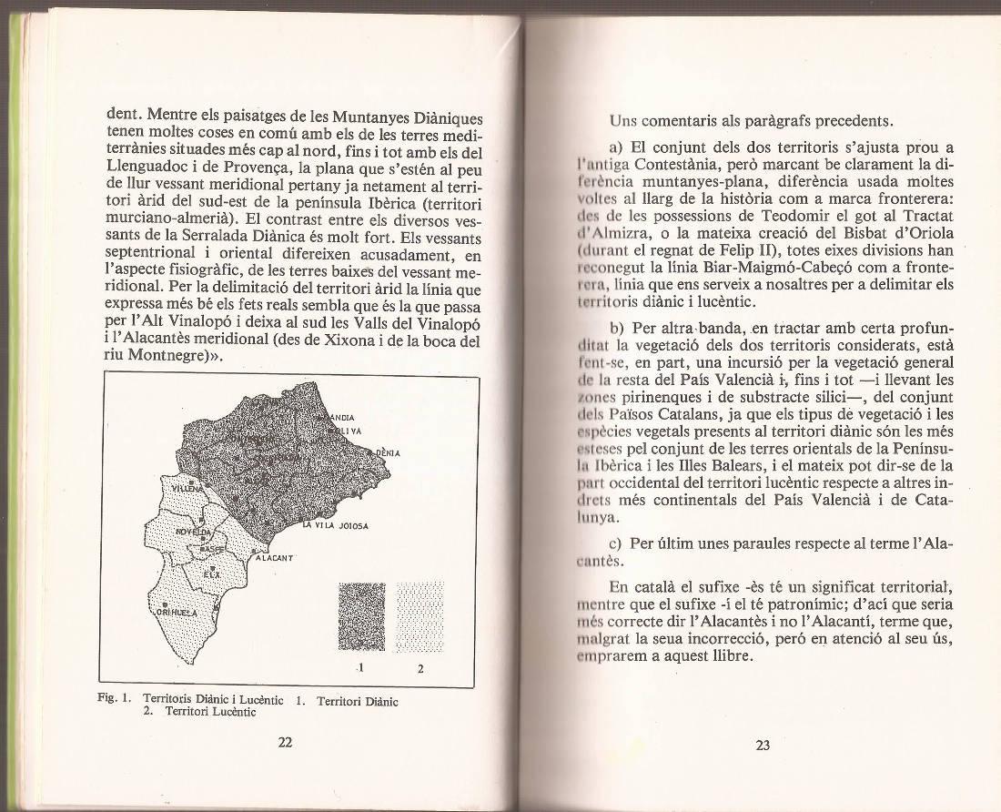 """Territori Diànic i Lucèntic al llibre """"Les Nostres Plantes"""" de Daniel Climent"""