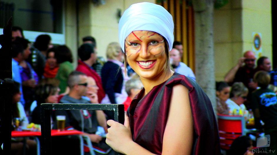 Onil continua les Festes Majors amb una radiant entrada de Moros i Cristians