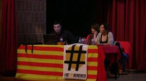 Membres de Som Energia i del Centre Cultural Castellut