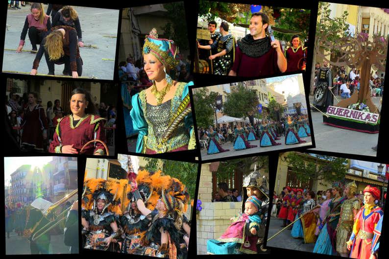 Festes a Diània: Onil 2014, Biscaïns