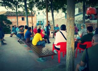 Esquerra Unida debat amb la ciutadania castelluda sobre la situació política i el seu treball institucional