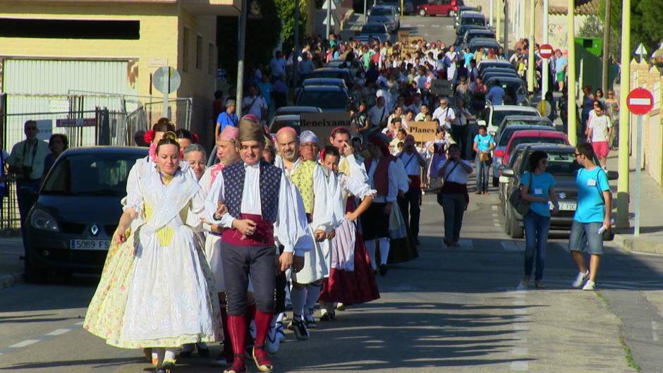 Passacarrers dels pobles participants