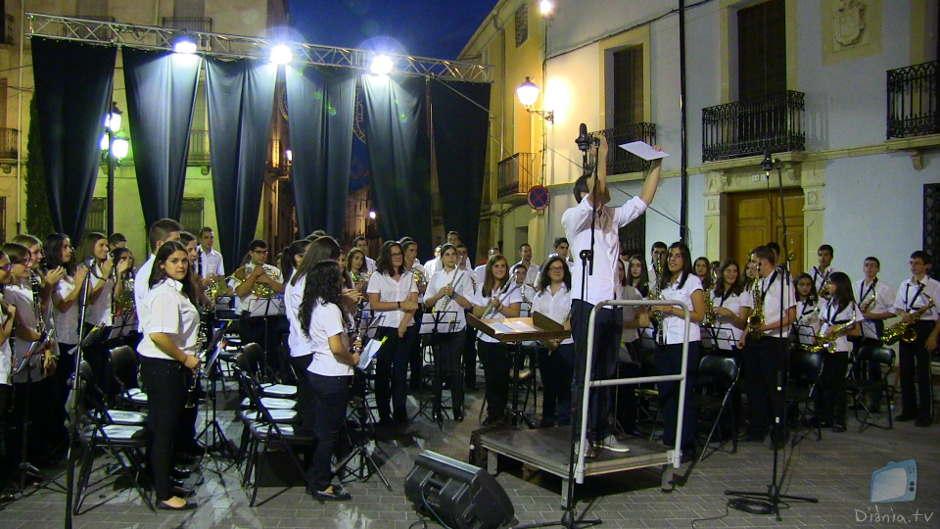 """Les jornades """"Carrascal 2014"""" de la Banda Jove de Castalla clouen amb un magnífic concert de música festera"""