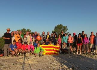 Enric Valor celebra el seu 103 aniversari a l'Alt del Guisop de Castalla