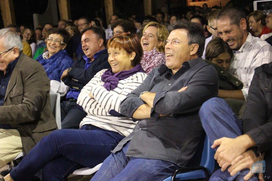 El públic no va parar de riure