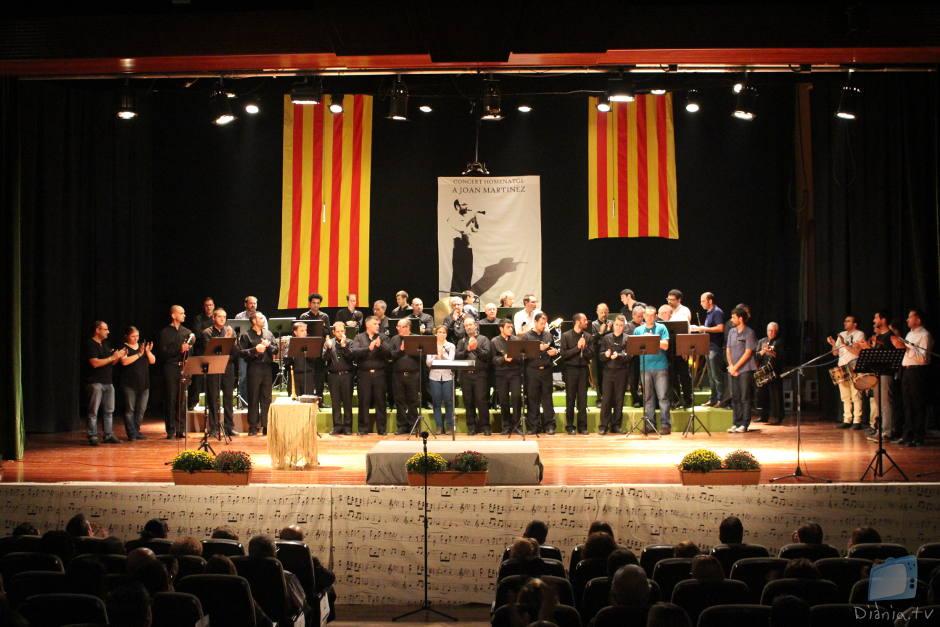 La Xafigà homenatja a Joan Martínez amb un emotiu concert a Muro