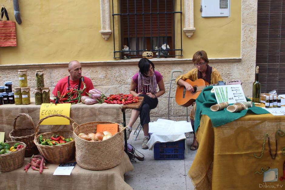 Productes ecològics amb música
