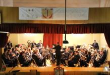 """La S.I.M d'Alfafara feu un viatge per """"100 anys de guerres"""" al proppassat concert de Santa Cecília"""