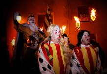 El Rei Pàixaro cavalca un any més els carrers de Biar per recaptar els impostos de la corona