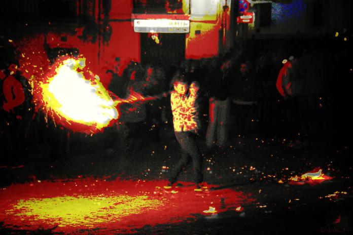 La Nit dels Fatxos a Onil, 24/12/2014
