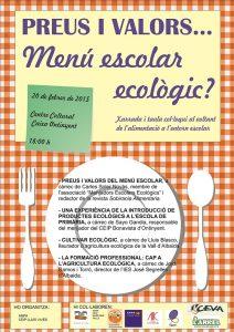 Els centres educatius d'Ontinyent organitzen una xarrada sobre l'alimentació a l'entorn escolar