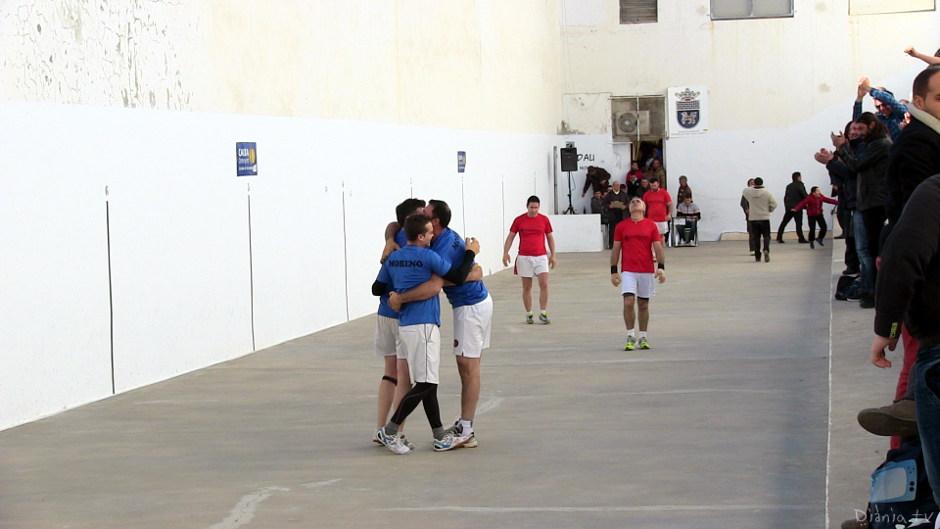 Llocnou, Canals, Moixent i Genovés s'imposen al 12è campionat de raspall de la Mancomunitat