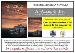 Just I. Sellés presenta la novel·la 'Al-Azraq, El Blau' al centre excursionista d'Ibi