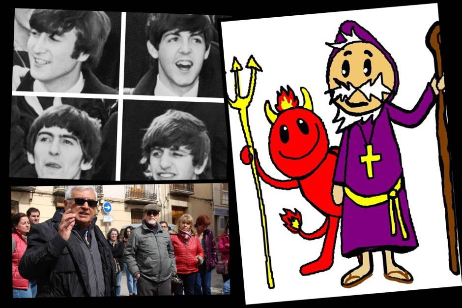 Daniel Climent Sant Antoni Dimoni The Beatles LSD Lucy