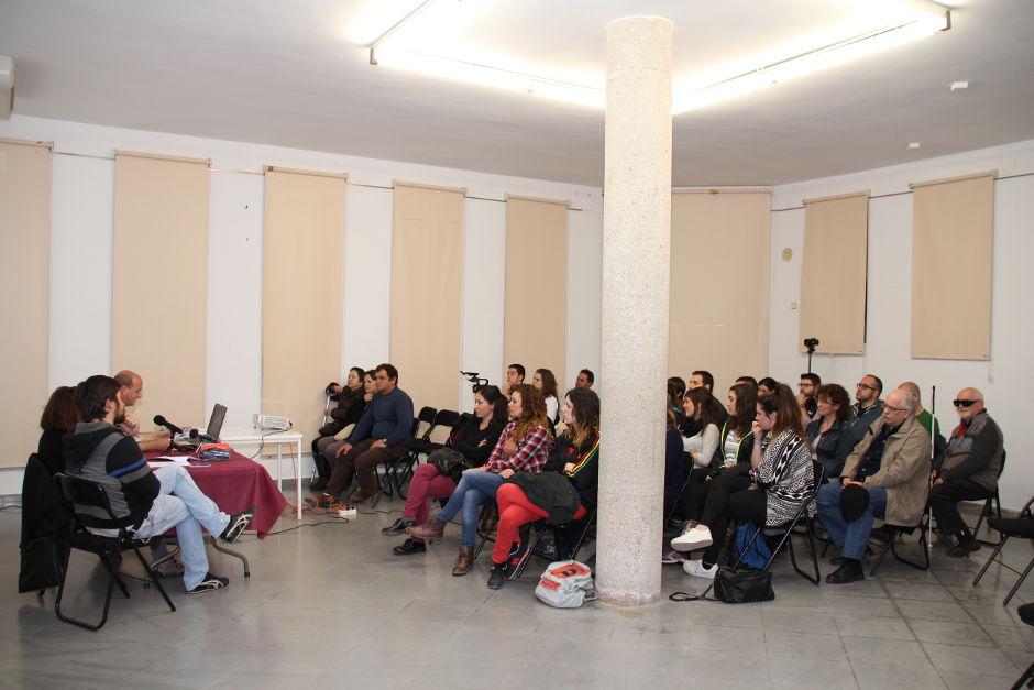 Dijous tingué lloc la xerrada de Juan José Moya Salom sobre Rehabilitació