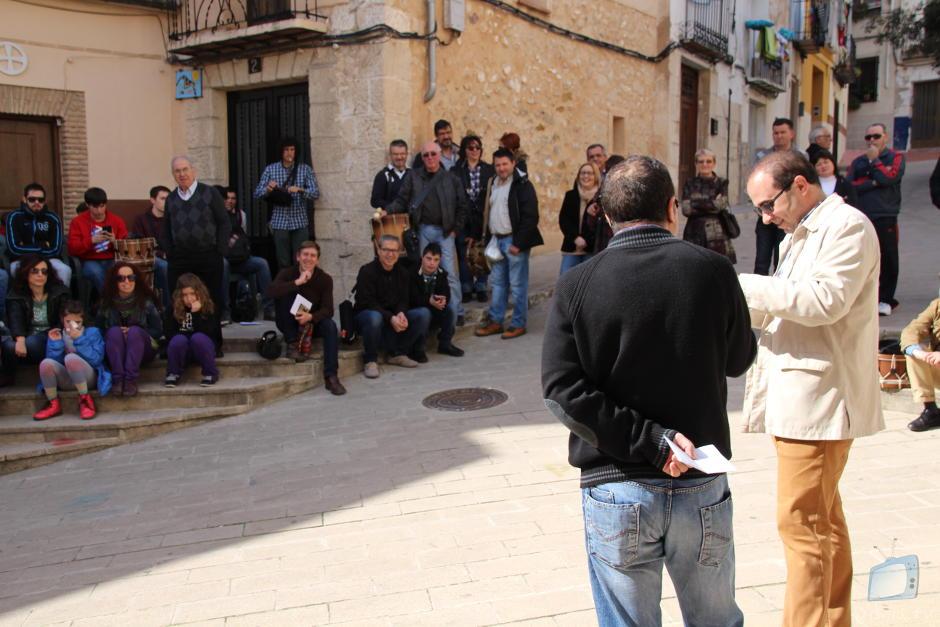 Francesc Gisbert oferí una xerrada al voltant de la festa dels Nanos de Cocentaina