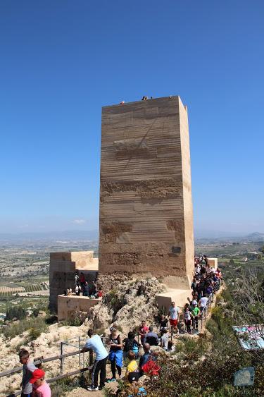 El Castell de Carrícola rep una gran afluència de visitants durant la jornada de diumenge
