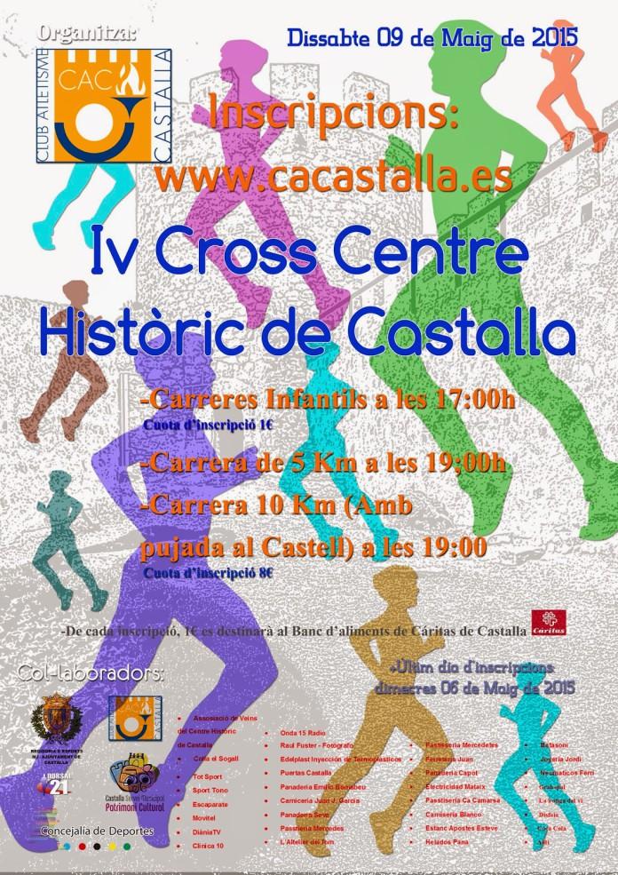 El IV Cross pel Centre Històric de Castalla tindrà lloc el pròxim 9 de maig