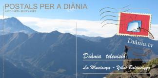 """Vistes una vall al parc natural """"Altos de Lircay"""" als Andes."""