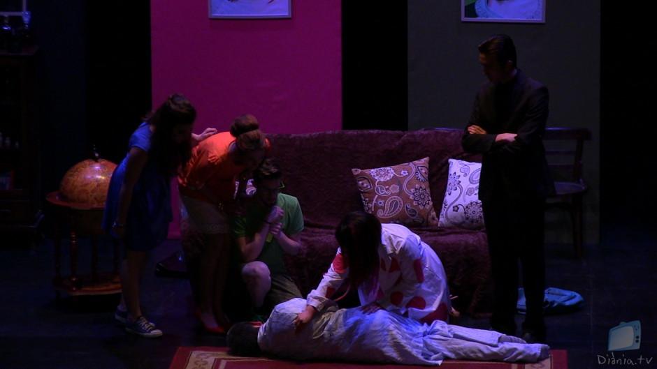 Tres Teatre Teatre Amateur Complot Castalla Auditori Comedia Negra