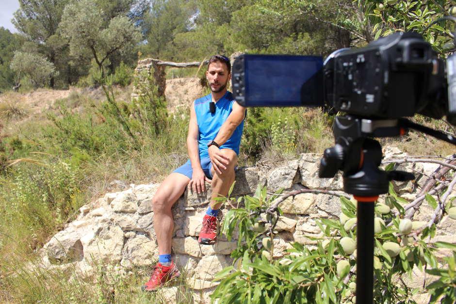 Gabi Pérez Finisher Transvulcania Ultra Trail Running Correr Castalla Cantalaes