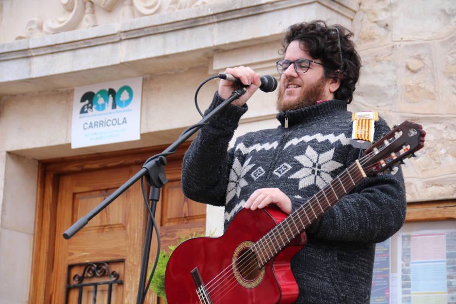Toni de l'Hostal Tio Pep Carricola Pasqua Musica en Valencia