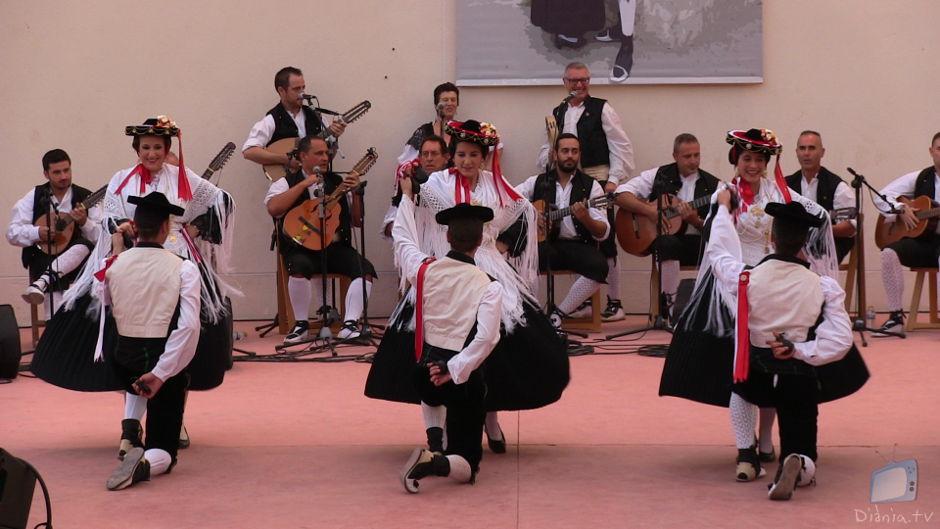Grup Danses Ibi El Trompot Fandanguet Rodaet Jota de Carrers Festival Danses Ibi