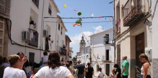 Millena planta el tradicional xop com a colofó de les Festes Majors