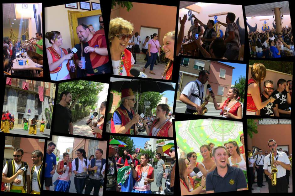 1 Festes Moros i Cristians Castalla 2014 Entrevistes Humor