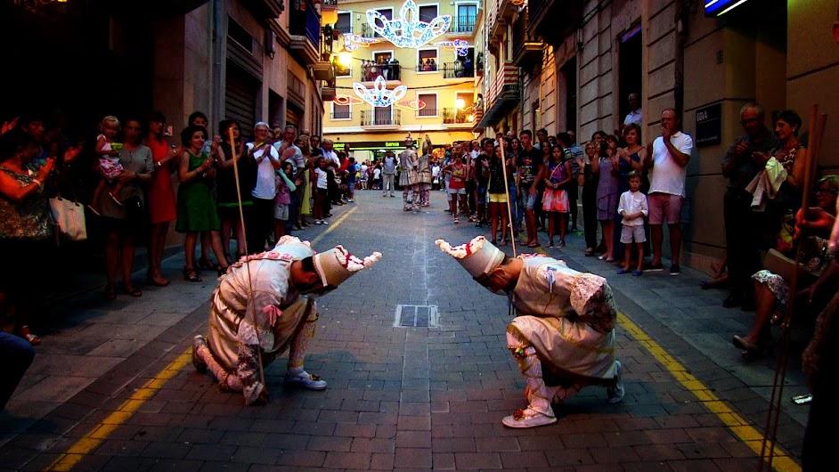 Els Cabolos de Bocairent donen la benvinguda a les Festes de Sant Agustí