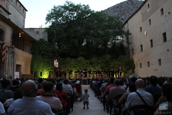 La Colla Mal Passet enceta els Moros i Cristians de Cocentaina amb el XII Concert de Festes
