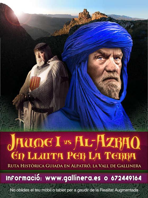 La ruta històrica 'Jaume I vs Al-Azraq' torna als carrers d'Alpatró per primavera