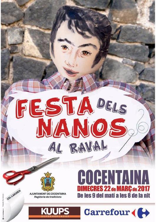 Els Nanos de Cocentaina: la tradició continua el dimecres 22 de març