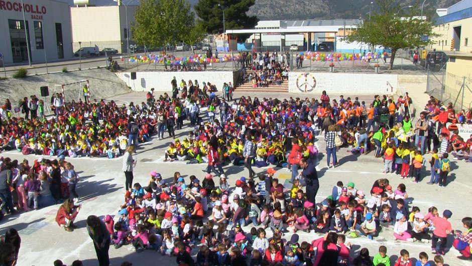 Festitrò Muro Trobades Escola Valenciana Coordinadora Alcoia Comtat