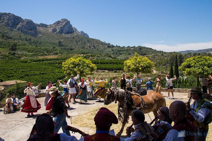 La Festa de la Cirera clou la XVI edició amb molt d'èxit a la Vall de Gallinera