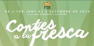 'Contes a la fresca' per recuperar la tradició oral autòctona a la Vall d'Albaida i la Safor