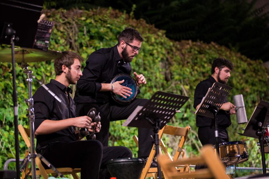 La Colla Mal Passet enceta el cicle de música festera al Palau Comtal de Cocentaina